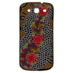 Aboriginal Art   Meeting Places Samsung Galaxy S3 S Iii Classic Hardshell Back Case