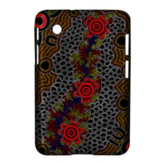 Aboriginal Art   Meeting Places Samsung Galaxy Tab 2 (7 ) P3100 Hardshell Case