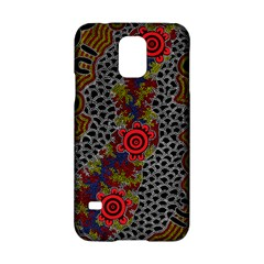 Aboriginal Art   Meeting Places Samsung Galaxy S5 Hardshell Case