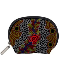 Aboriginal Art   Meeting Places Accessory Pouches (small)