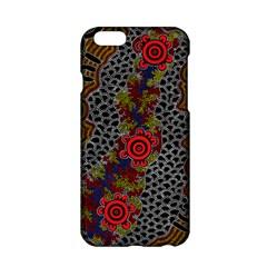 Aboriginal Art   Meeting Places Apple Iphone 6/6s Hardshell Case