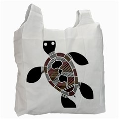 Aboriginal Art   Untitled Recycle Bag (one Side)