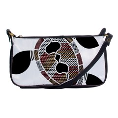Aboriginal Art   Untitled Shoulder Clutch Bags