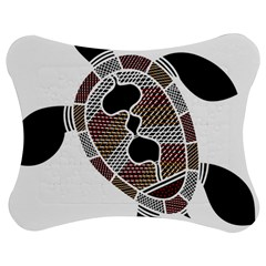 Aboriginal Art   Untitled Jigsaw Puzzle Photo Stand (bow)