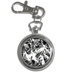 Broken Glass  Key Chain Watches