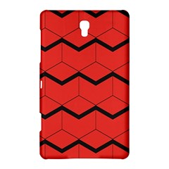 Red Box Pattern Samsung Galaxy Tab S (8 4 ) Hardshell Case