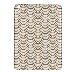 Art Deco,japanese Fan Pattern, Gold,white,vintage,chic,elegant,beautiful,shell Pattern, Modern,trendy Ipad Air 2 Hardshell Cases