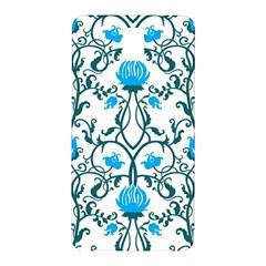 Art Nouveau, Art Deco, Floral,vintage,blue,green,white,beautiful,elegant,chic,modern,trendy,belle ¨|poque Samsung Galaxy Note 3 N9005 Hardshell Back Case