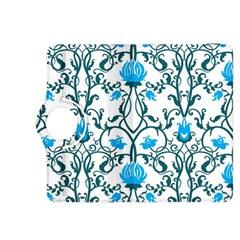 Art Nouveau, Art Deco, Floral,vintage,blue,green,white,beautiful,elegant,chic,modern,trendy,belle ¨|poque Kindle Fire Hdx 8 9  Flip 360 Case