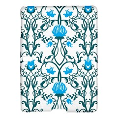 Art Nouveau, Art Deco, Floral,vintage,blue,green,white,beautiful,elegant,chic,modern,trendy,belle ¨|poque Samsung Galaxy Tab S (10 5 ) Hardshell Case