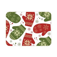 Winter Snow Mittens Double Sided Flano Blanket (mini)