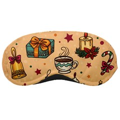 Cute Vintage Christmas Pattern Sleeping Masks