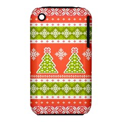 Christmas Tree Ugly Sweater Pattern Iphone 3s/3gs