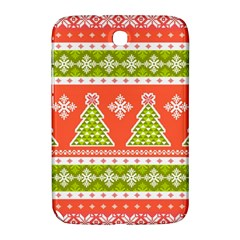 Christmas Tree Ugly Sweater Pattern Samsung Galaxy Note 8 0 N5100 Hardshell Case