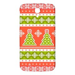 Christmas Tree Ugly Sweater Pattern Samsung Galaxy Mega I9200 Hardshell Back Case