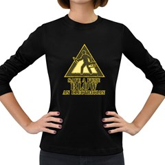 Save A Fuse Blow An Electrician Women s Long Sleeve Dark T Shirts