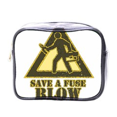 Save A Fuse Blow An Electrician Mini Toiletries Bags