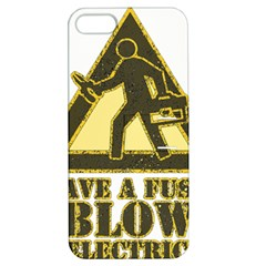 Save A Fuse Blow An Electrician Apple Iphone 5 Hardshell Case With Stand