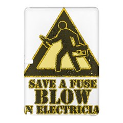 Save A Fuse Blow An Electrician Samsung Galaxy Tab Pro 12 2 Hardshell Case