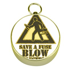 Save A Fuse Blow An Electrician Gold Compasses
