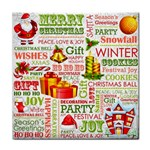 The Joys Of Christmas Tile Coasters Front