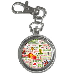 The Joys Of Christmas Key Chain Watches