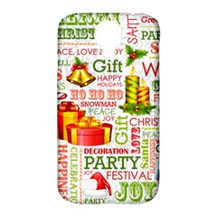 The Joys Of Christmas Samsung Galaxy S4 Classic Hardshell Case (pc+silicone)