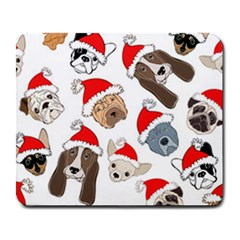 Christmas Puppies Large Mousepads