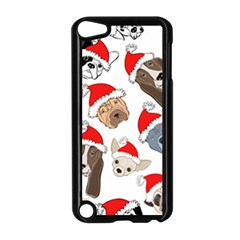 Christmas Puppies Apple Ipod Touch 5 Case (black)
