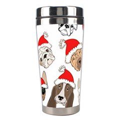 Christmas Puppies Stainless Steel Travel Tumblers