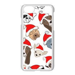 Christmas Puppies Apple Iphone 8 Seamless Case (white)