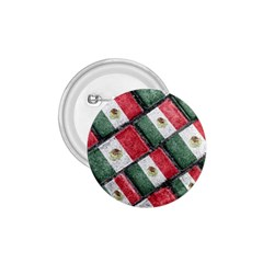 Mexican Flag Pattern Design 1 75  Buttons