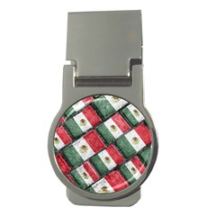 Mexican Flag Pattern Design Money Clips (round)