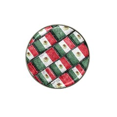 Mexican Flag Pattern Design Hat Clip Ball Marker