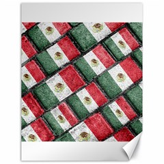 Mexican Flag Pattern Design Canvas 18  X 24