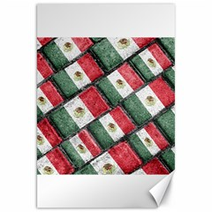 Mexican Flag Pattern Design Canvas 20  X 30