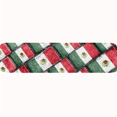 Mexican Flag Pattern Design Large Bar Mats