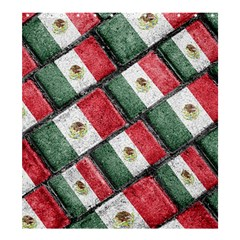 Mexican Flag Pattern Design Shower Curtain 66  X 72  (large)