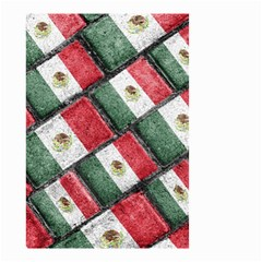 Mexican Flag Pattern Design Small Garden Flag (two Sides)