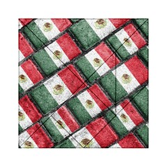 Mexican Flag Pattern Design Acrylic Tangram Puzzle (6  X 6 )