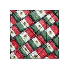 Mexican Flag Pattern Design Acrylic Tangram Puzzle (4  X 4 )