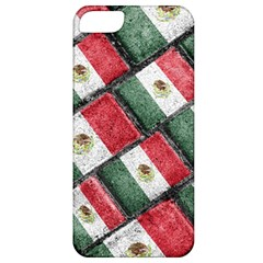 Mexican Flag Pattern Design Apple Iphone 5 Classic Hardshell Case