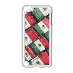 Mexican Flag Pattern Design Apple Ipod Touch 5 Case (white)