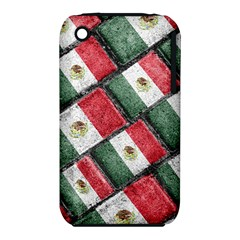 Mexican Flag Pattern Design Iphone 3s/3gs