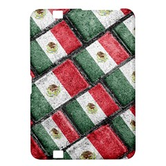 Mexican Flag Pattern Design Kindle Fire Hd 8 9