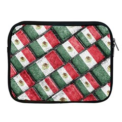 Mexican Flag Pattern Design Apple Ipad 2/3/4 Zipper Cases