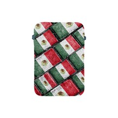 Mexican Flag Pattern Design Apple Ipad Mini Protective Soft Cases