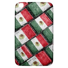 Mexican Flag Pattern Design Samsung Galaxy Tab 3 (8 ) T3100 Hardshell Case
