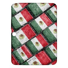 Mexican Flag Pattern Design Samsung Galaxy Tab 3 (10 1 ) P5200 Hardshell Case
