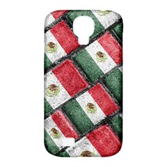 Mexican Flag Pattern Design Samsung Galaxy S4 Classic Hardshell Case (pc+silicone)